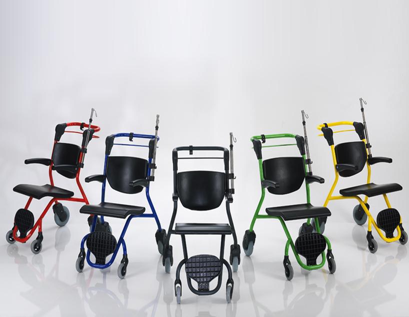 nts x10 chaise de transport de patient nitrocare. Black Bedroom Furniture Sets. Home Design Ideas